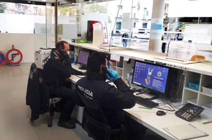 La Policia Local d'Alaquàs registra 12.590 actuacions en matèria de seguretat i protecció durant l'any 2020