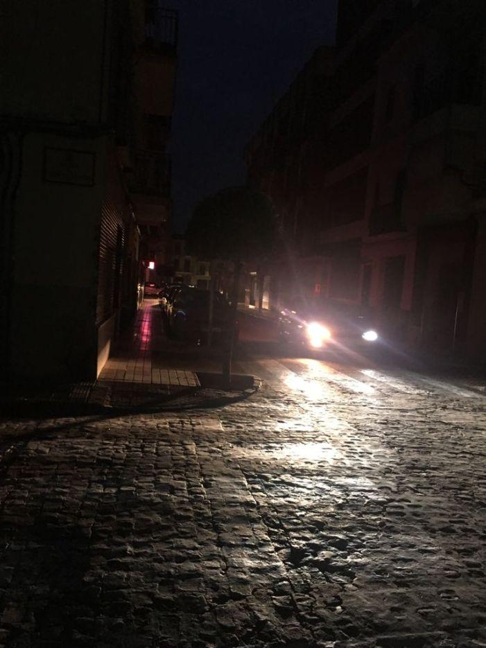 El PP d'Algemesí denuncia que la ciutat està a fosques