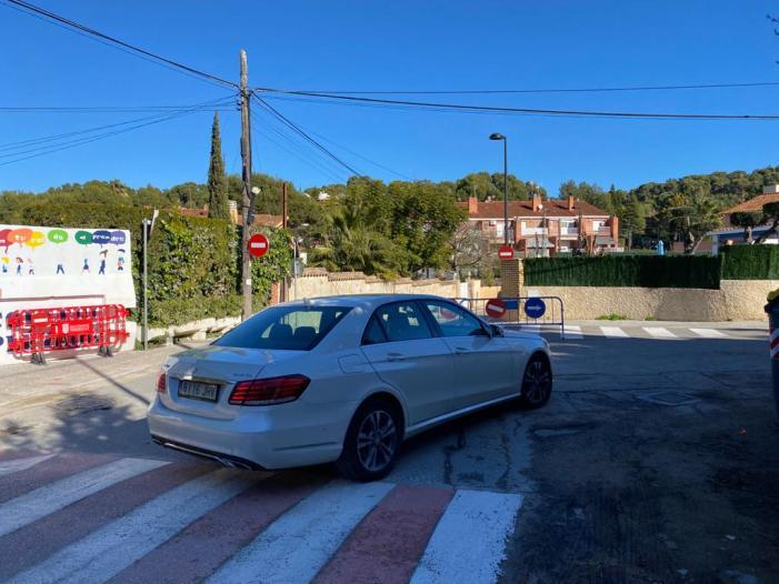 La circulació del carrer Joaquín Costa en Torrent canvia i serà d'un únic sentit en direcció al Toll de l'Alberca