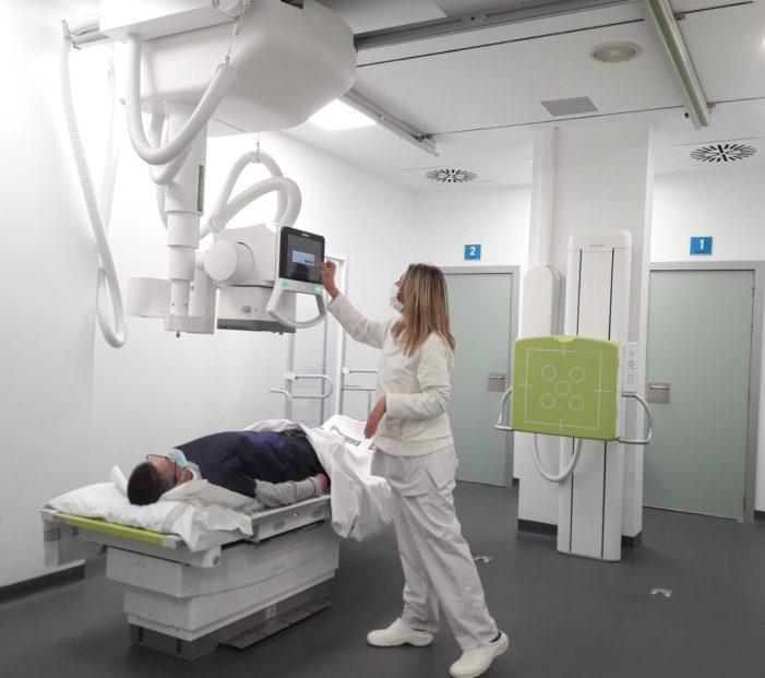 Més de 8.000 pacients es beneficiaran a l'any del nou equip de Radiologia Digital del Centre de Salut Integrat de Sueca