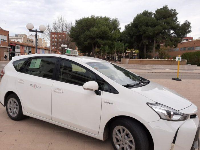 Almussafes renova la seua aposta pel transport sanitari en taxi i dota al servei amb un pressupost de 33.000 euros