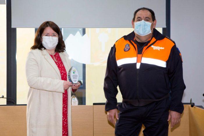 L'Ajuntament de Godella reconeix l'esforç a l'Agrupació de Voluntaris de Protecció Civil durant la crisi sanitària
