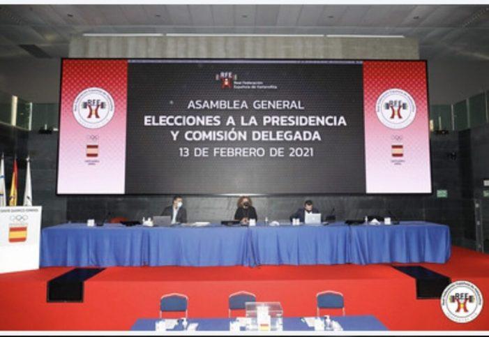 El Club Halterofília Alzira va participar l'assemblea general de la Real Federació Espanyola d'Halterofília