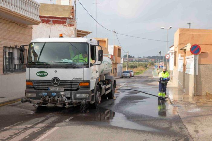 L'Ajuntament de Picassent continua amb el pla de neteja i desinfecció davant la Covid19