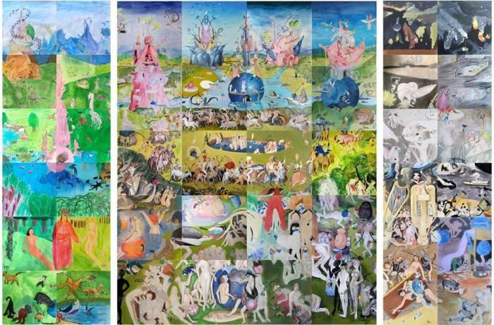 """El tríptic """"Col·laborabosco"""", realitzat pels alumnes de l'escola Municipal de Pintura i Dibuix de Benifaió durant el confinament, ix a la llum"""