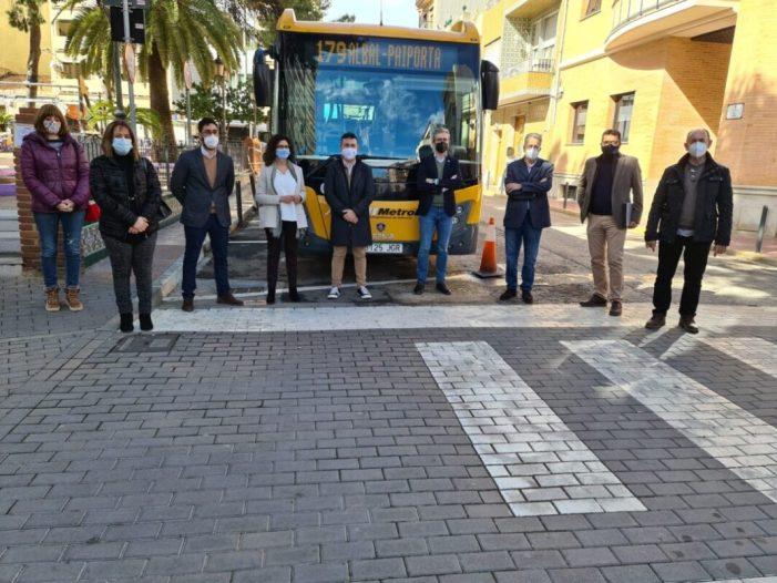 El Consell impulsa un autobús llançadora que connecta l'Horta i València, amb eixida des d'Albal