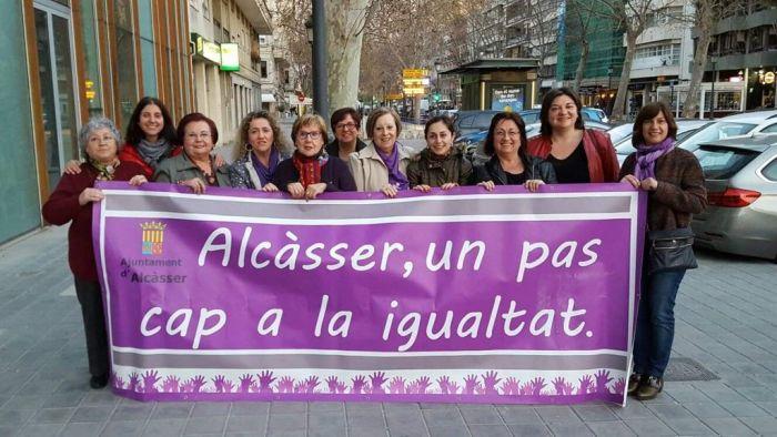 La campanya del 8M d'Alcàsser combatrà les desigualtats de gènere