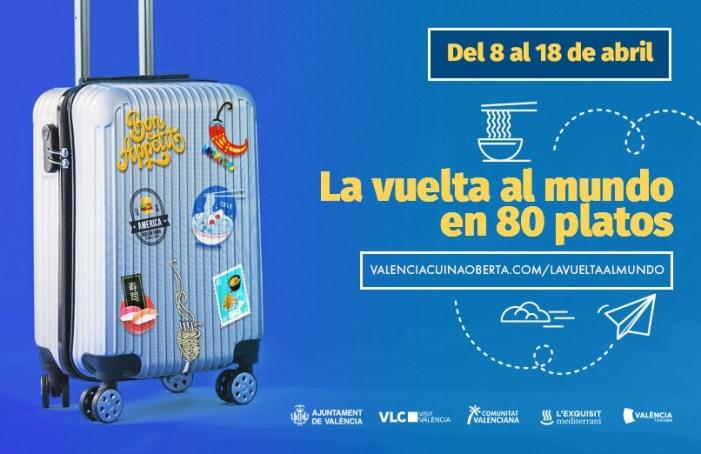 València arranca la seua «volta al món en 80 plats» per a fer costat al sector gastronòmic