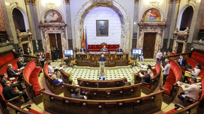 L'àmplia majoria del Ple aprova amb l'Acord Marc Estratègic el model de ciutat de València per a 2030