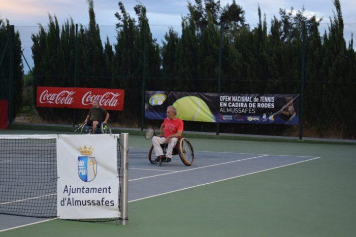 Almussafes acull aquesta setmana el seu XXIII Open de Tennis en Cadira de Rodes