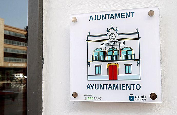 Alaquàs completa la xarxa de pictogrames instal.lats al municipi per continuar fomentant la inclusió i l'accessibilitat cognitiva
