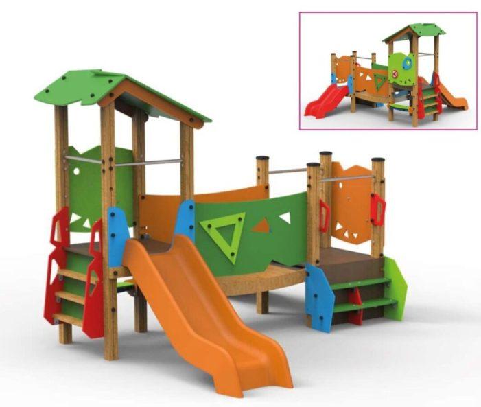 El parc de Cantereria de Burjassot comptarà amb un nou joc infantil