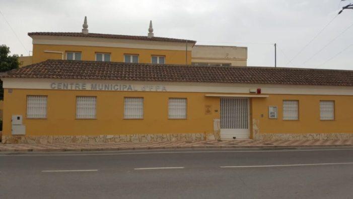 L'Ajuntament d'Almussafes inicia la reforma del seu Centre de Formació d'Adults