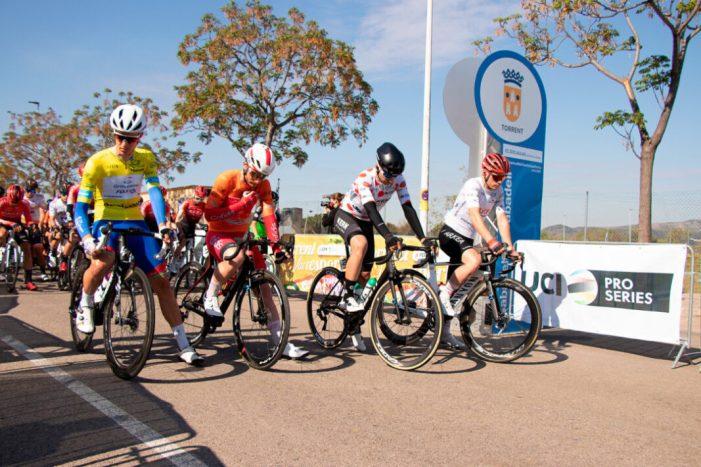 La tercera jornada de la Volta a la Comunitat Valenciana 2021 ix des de Torrent