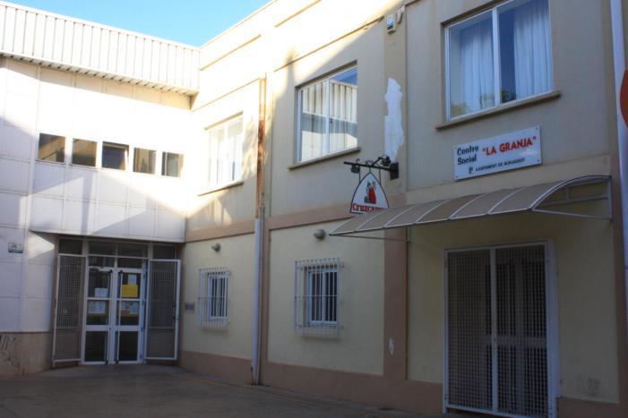 Adjudicat el projecte per a la realització d'obres de millora en el Centre Social La Granja de Burjassot