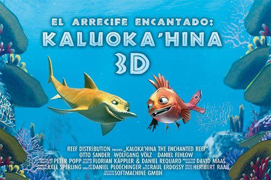 El Hemisfèric estrena aquest cap de setmana la pel·lícula d'animació 'L'escull encantat: Kaluoka'hina 3D'