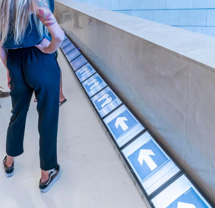 L'IVAM presenta una instal·lació interactiva del col·lectiu Laboratori de Llum amb motiu del Dia dels Museus