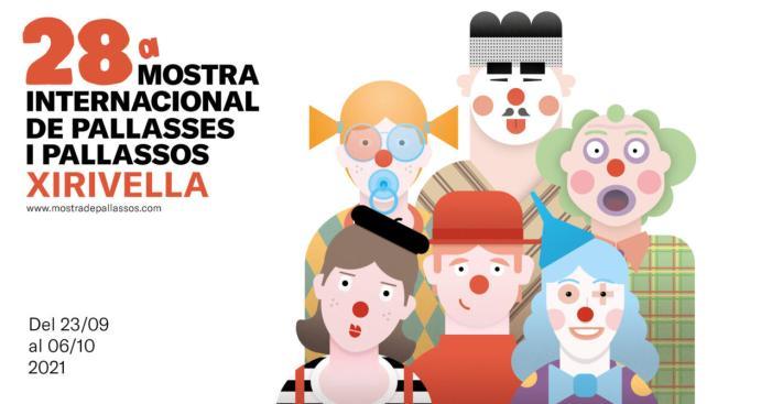 La Mostra Internacional de Pallasses i Pallassos de Xirivella s'avança a setembre