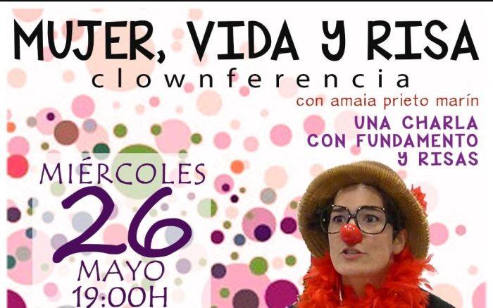 """Els riures estan garantits en la clownferència """"Dona, vida i riures"""" que tindrà lloc el pròxim 26 de maig a Burjassot"""