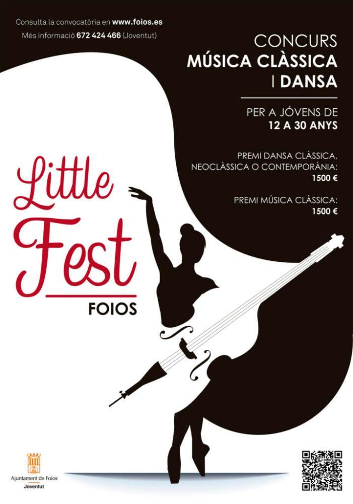 La música clàssica i la dansa, protagonistes del I Concurs Jove Foios Little Fest 2.0