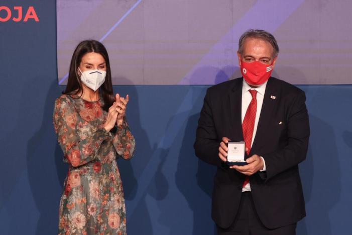 Celebració del Dia Mundial de la Creu Roja i de la Mitja Lluna Roja.