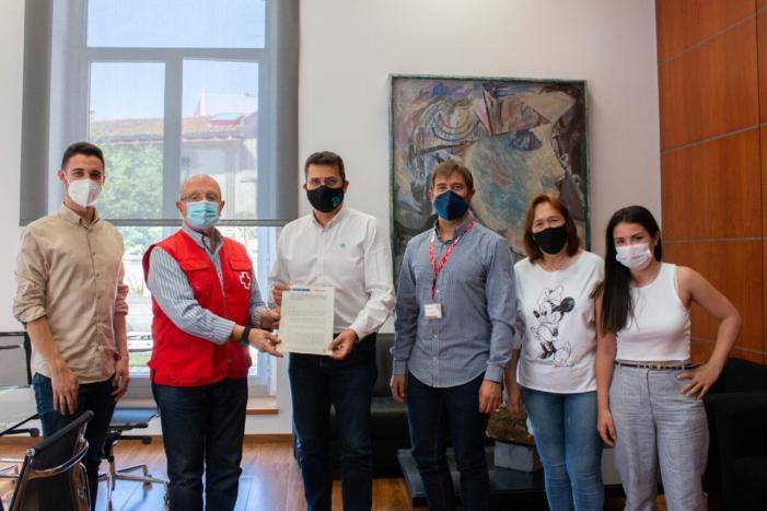 Alfafar signa un conveni amb Creu Roja Espanyola per a la formació de joves
