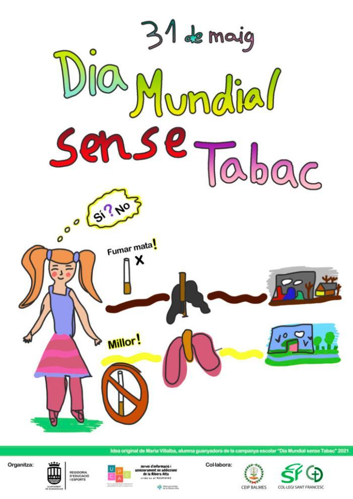 El Dia Mundial Sense Tabac es commemora als centres educatius de Guadassuar