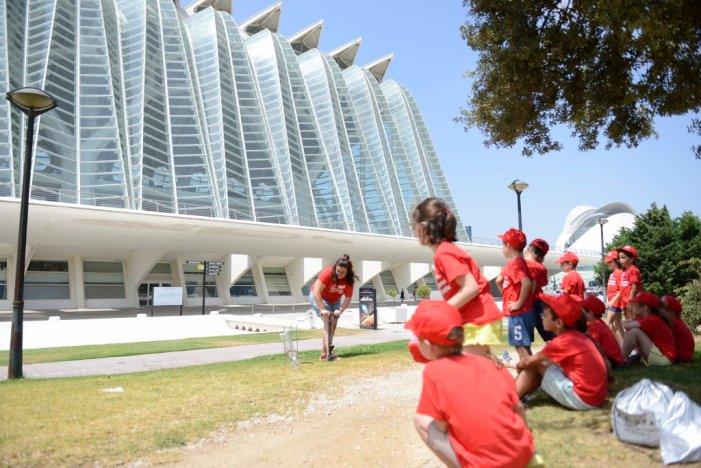 La Ciutat de les Arts i les Ciències ofereix una escola d'estiu amb activitats de ciència i medi ambient