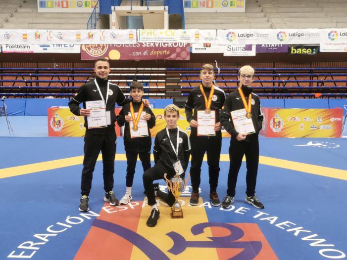 El PIAAM de Paiporta, millor club de taekwondo d'Espanya en categoria cadet