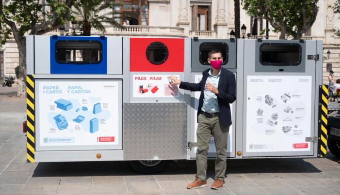 L'Ajuntament de València implanta la recollida de residus amb plataforma mòbil en ciutat vella nord i d'arreplega porta a porta per a comerços i restaurants