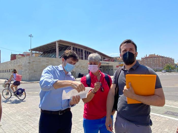 Urbanisme estudia millores al barri de Beteró de València  després d'escoltar les reivindicacions dels veïns i veïnes