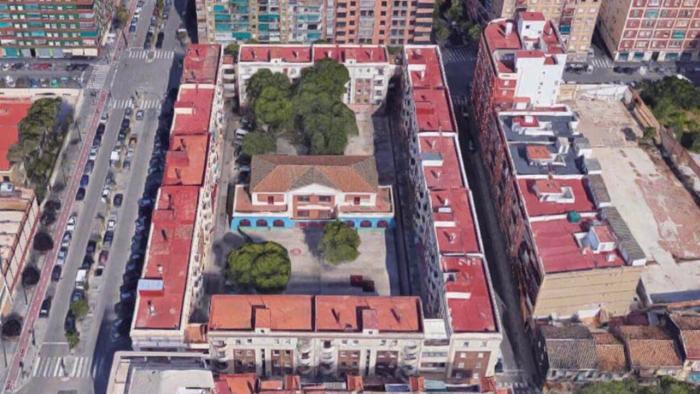 L'Ajuntament de València adjudica per 370.000€ les obres de rehabilitació del futur Centre Cívic de la plaça Goerlich