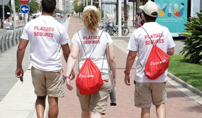 L'Ajuntament de València contracta 68 joves desocupats per al programa Platges Segures