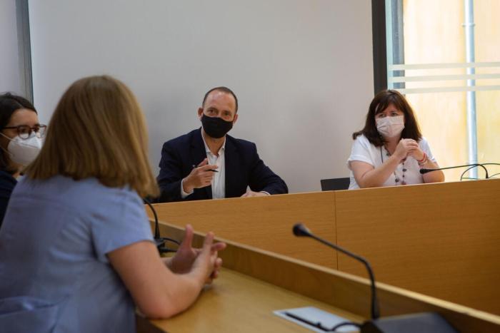 El Vicepresident Segon del Consell, Rubén Martínez Dalmau, visita Godella per a conéixer els projectes d'habitatge social