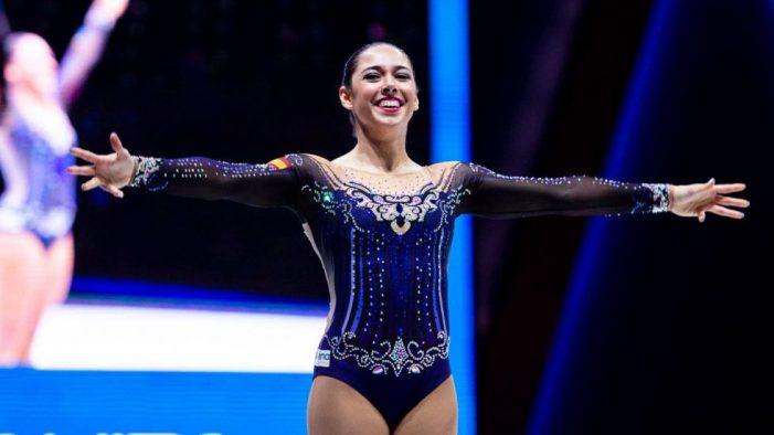 La burjassotense Belén Guillemot Esterlich aconsegueix la setena posició en el Mundial de gimnàstica aeròbica