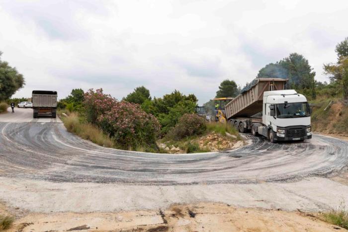 L'Ajuntament de Picassent continua amb els treballs de reparació dels camins del terme municipal afectats pel temporal de novembre de 2020