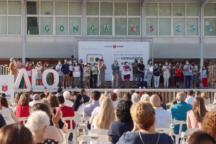 Alaquàs reconeix totes les comunitats educatives del municipi pel seu compromís i esforç per garantir el dret a l'educació durant la pandèmia