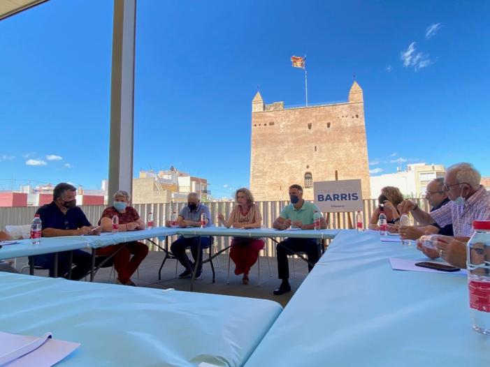 """El PP de Torrent crea el """"Consell dels Barris"""" i es reuneix per primera vegada amb les associacions de veïns"""