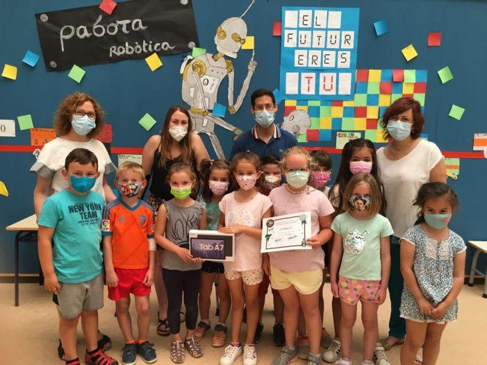 L'ajuntament d'Alfara del Patriarca entrega els premis del projecte 'Esplai residus zero' dins d'una campanya per a reduir l'ús del plàstic