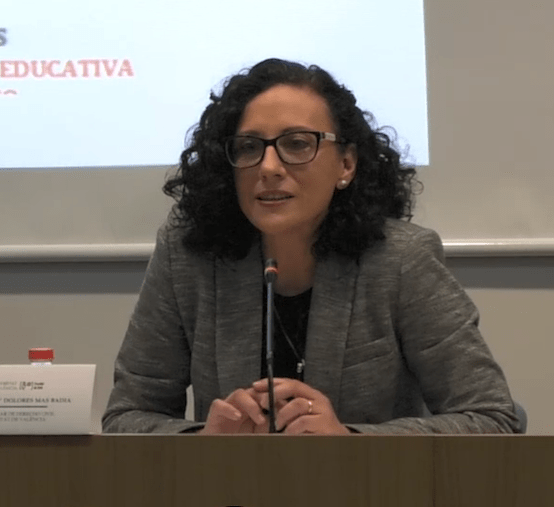 María Dolores Mas Badía ha sigut la guanyadora del premi d'Estudis Jurídics de la Reial Acadèmia Valenciana de Jurisprudència i Legislació