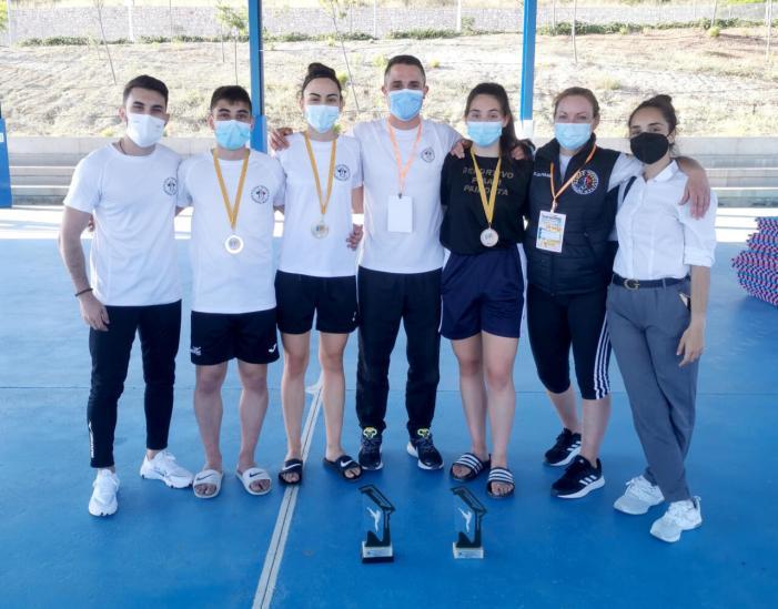 Ple de medalles en l'Autonòmic de taekwondo per al Club Deportivo PIAAM de Paiporta