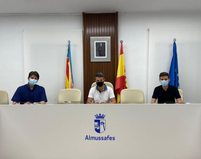Josep Peiró, elegit president de la Societat Musical Lira Almussafense d'Almussafes