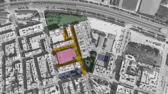 Urbanisme convertirà en zona de vianants l'entorn de mercat de Torrefiel de València per a revitalitzar el comerç del barri