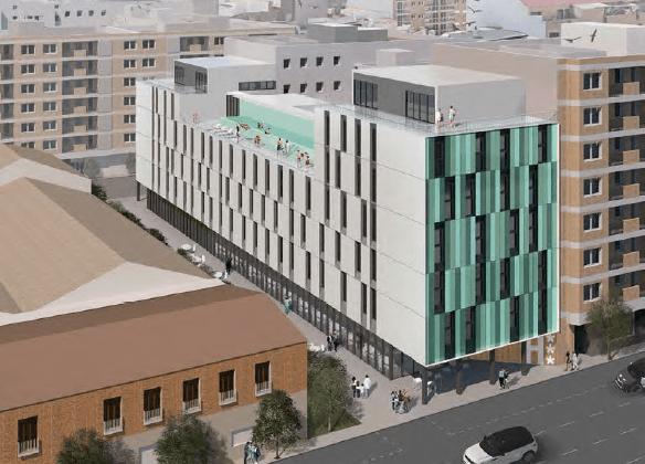 València tramita la llicència a un hotel de 4 estrelles a l'avinguda del Port