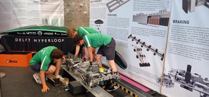 El Circuit Ricardo Tormo celebra dissabte la competició de la European Hyperloop Week