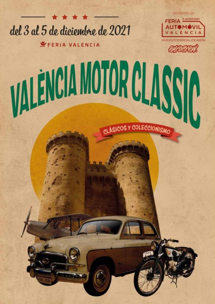 Fira València recupera la fira de vehicles clàssics amb la celebració de València Motor Classic