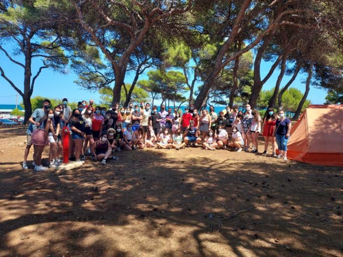 Set joves d'Alaquàs van participar els passats dies 7 I 8 de juliol en la Trobada d'estiu de Corresponsals Juvenils