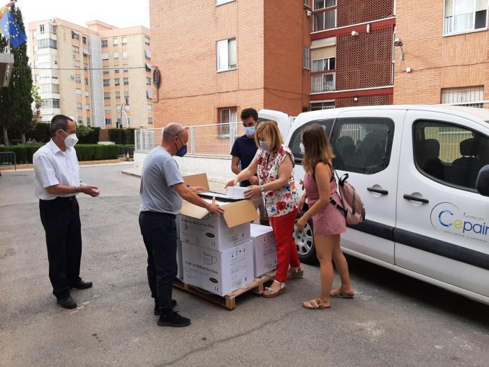 El Govern distribueix més de 1,3 milions de màscares entre entitats locals i socials destinades a col·lectius vulnerables en la Comunitat Valenciana