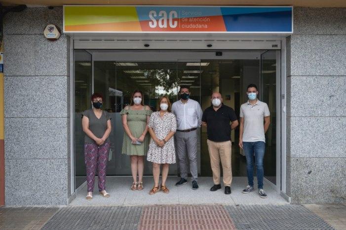 Alfafar àmplia el Servei d'Atenció Ciutadana del Barri Orba