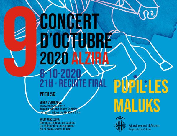 El PP d'Alzira lamenta que el govern local gastara més de 15.000€ en els concerts del 9 d´Octubre per a només 116 persones que van assistir